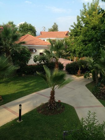 Club Tuana Fethiye: View from Balcony