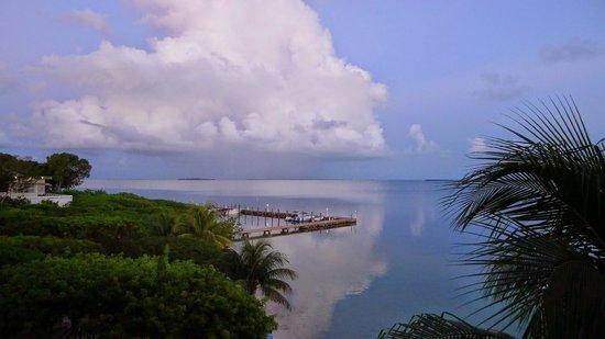 Hilton Key Largo Resort: Aussicht aus dem Zimmer über den Golf von Mexico