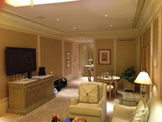 Emirates Palace: kahleej suite