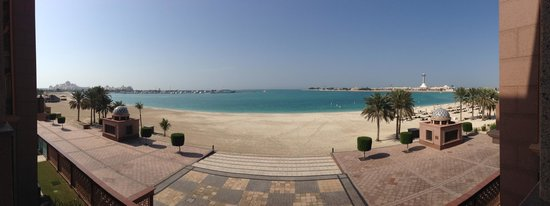 Emirates Palace: view from the suite