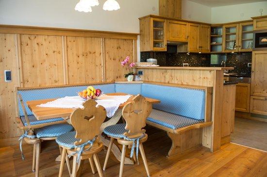 Haus Abanico: Küche mit Essbereich