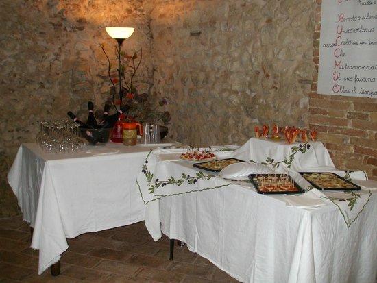 Il Bello e il Buono: Angolo buffet pronto!!