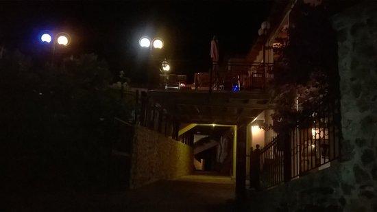 Arianna: Vista dall'ingresso principale