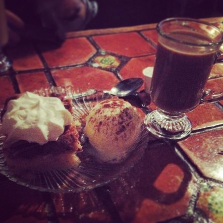 The Anvil Restaurant: Coffee and dessert