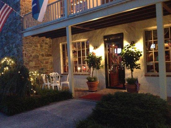 The Anvil Restaurant : Front of the restaurant