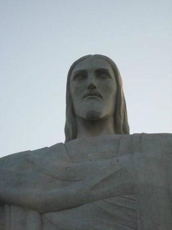 Estatua de Cristo el Redentor: Face do Cristo.
