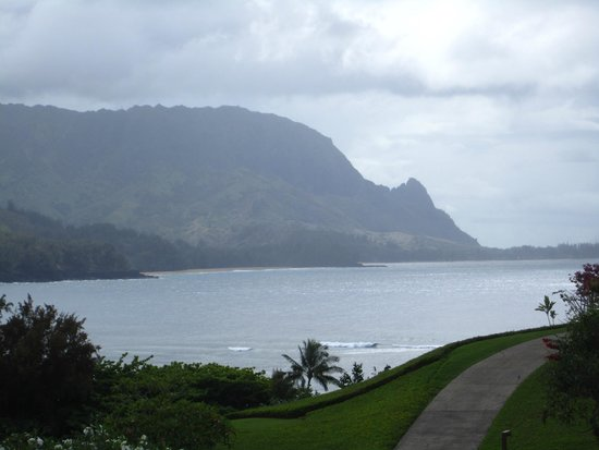 Hanalei Bay Resort : View from HBR 4222