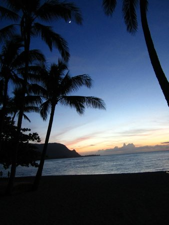 Hanalei Bay Resort : Beach at HBR