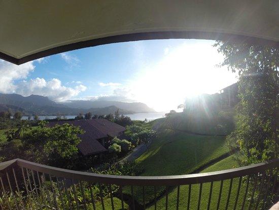 Hanalei Bay Resort : Mornings on the lanai - HBR 4222