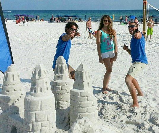 Sand Castles In Destin Fl Picture Of
