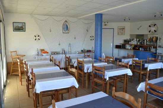 Hotel Acapella : Salle petit déjeuner