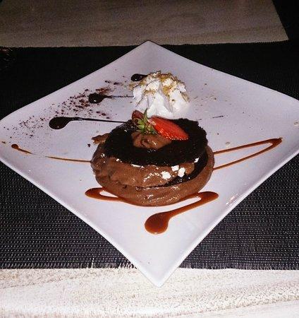 Hôtel Le Ressac : Dessert choco