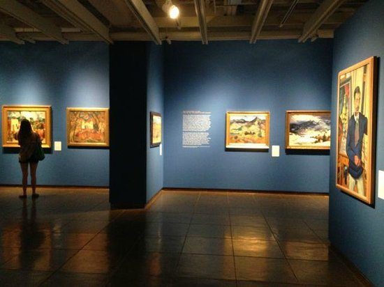 New Mexico Museum of Art: Interesting permanent collection