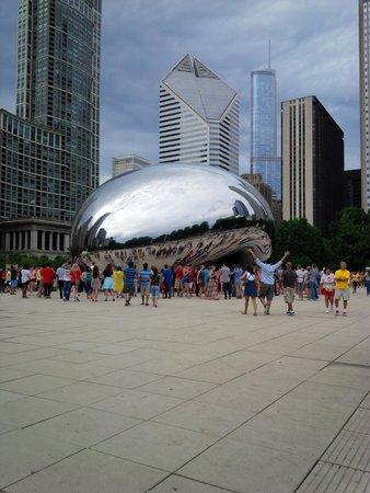 Aloft Chicago O'Hare : Millenium Park, downtown Chicago