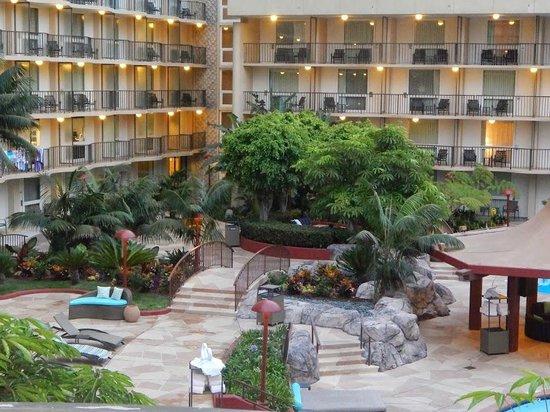 Los Angeles Airport Marriott: Pool area