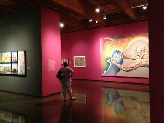 New Mexico Museum of Art: Judy Chicago temporary exhibition