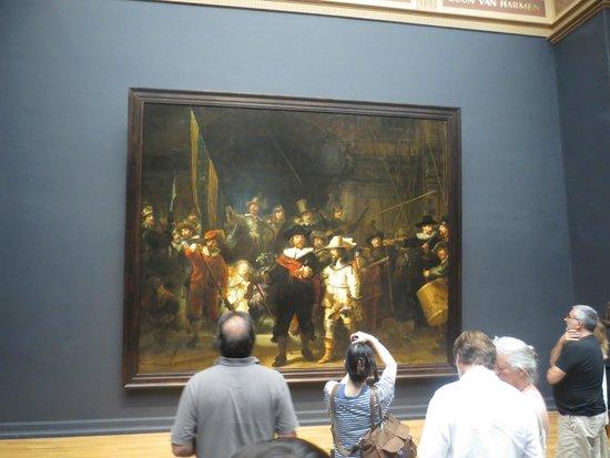 Rijksmuseum (Museo Nacional de Ámsterdam): die berühme Nachtwache