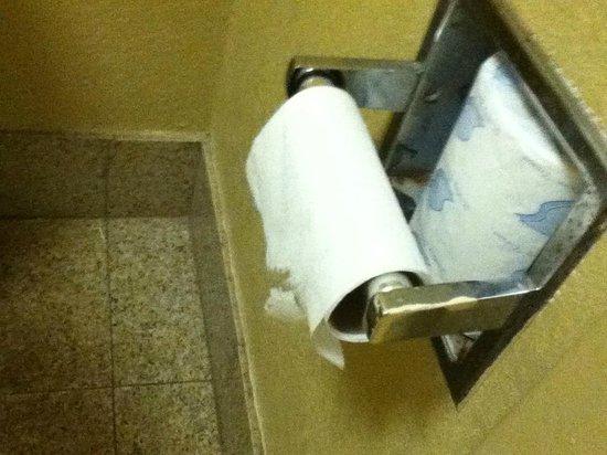 Jameson Inns Mobile: Rouleau de papier fini