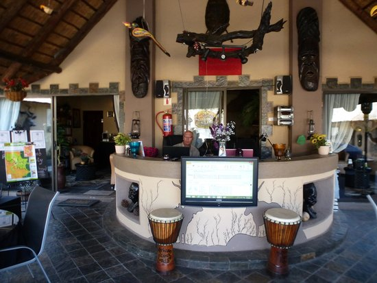 African Rock Lodge: Reception