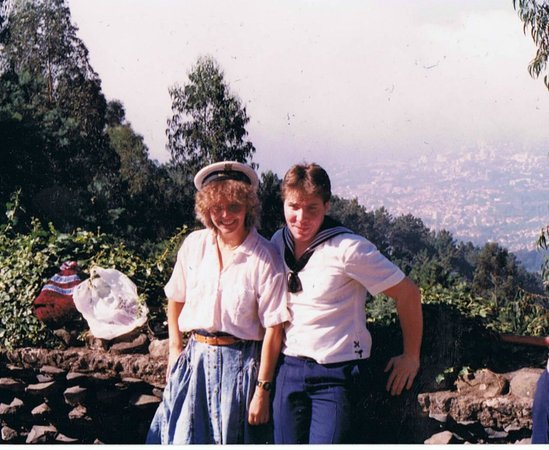 Madeira Story Centre: Widok na Funchal