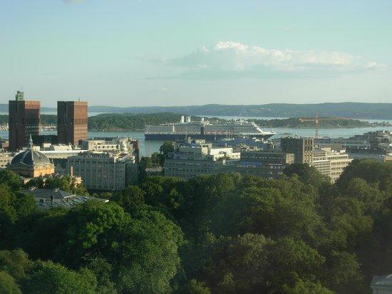 Radisson Blu Scandinavia Hotel: Blick vom Zimmer im 17. Stock