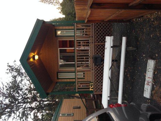 Yosemite Ridge Resort: Notre bungalow