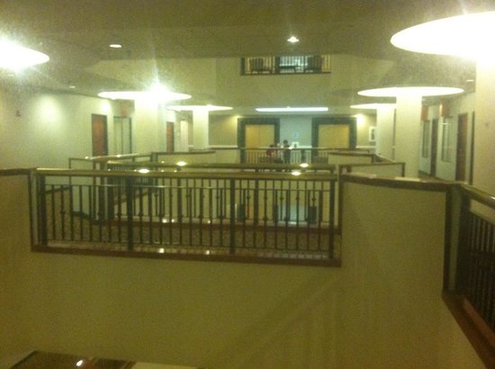 """Wyndham Garden Hotel Baronne Plaza : The dismal """"view"""" from the room"""