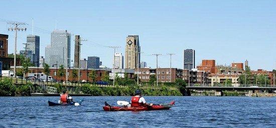 H2O Adventures : Promenade en kayak,sur le Canal La Chine,jour (avec Aventures H20).