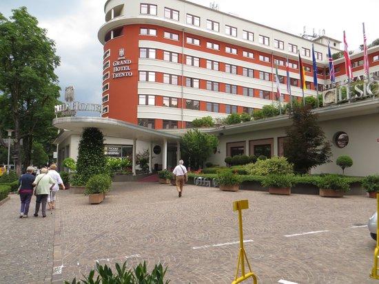 Grand Hotel Trento: het hotel....