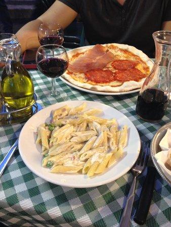 Carlo Menta Talevi Luigi e Luciano : cena