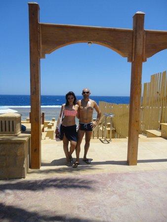 Resta Grand Resort: ingresso alla spiaggia