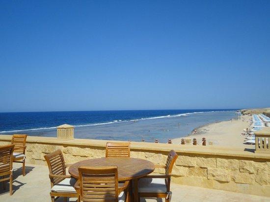 Resta Grand Resort: veduta del mare