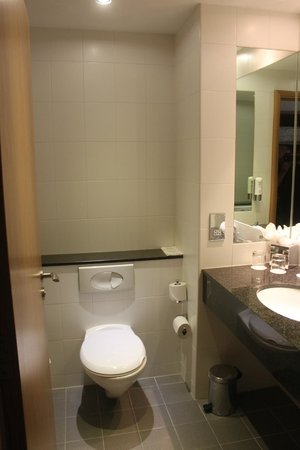 Clayton Hotel Cardiff Lane: Bad und WC