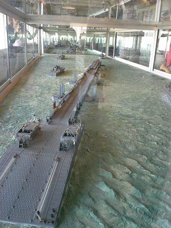 """Musee du debarquement : onderdelen van de haven werden over """"het Kanaal"""" gesleept"""
