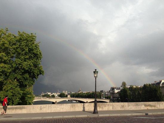 River Seine : セーヌ川の虹
