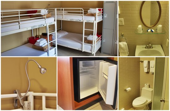 Montreal Central : 4 Bed Female Dorm