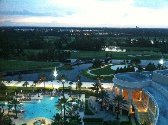Waldorf Astoria Orlando : Vista do Quarto 1207.