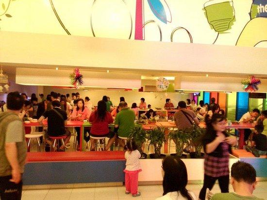 POP! Hotel Festival Citylink Bandung: Breakfast area