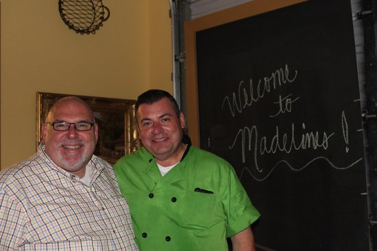 Madeline's Cafe and Bakery: Gerard and Hector (Welcome to Madeline's)