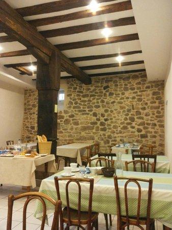 Le Hameau D'Eguisheim : The breakfast area
