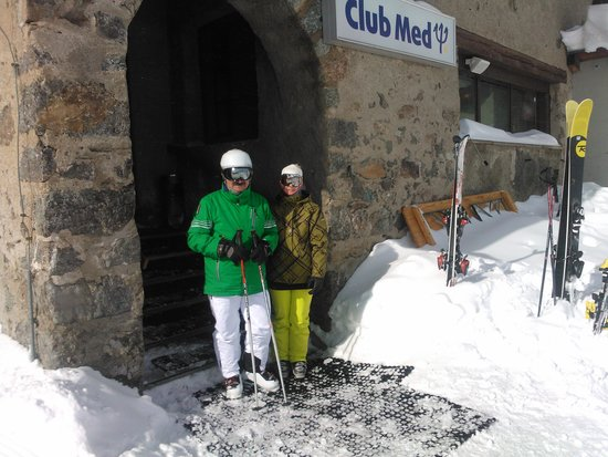 Club Med Saint Moritz Roi Soleil: Resto d'altitude