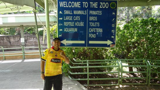 Emperor Valley Zoo : Main entrance to the zoo