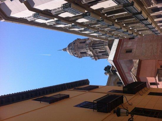 Malaga Cathedral : Top