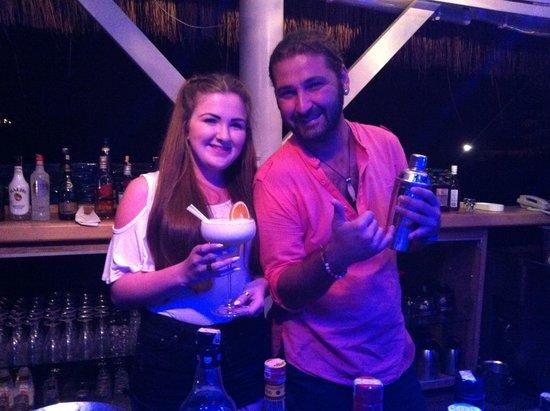 Deniz Feneri Lighthouse: Koray. Best barman in Kas!