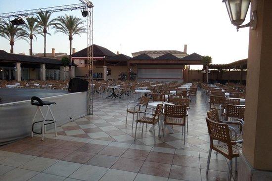 Hotel Pueblo Camino Real : La terrasse