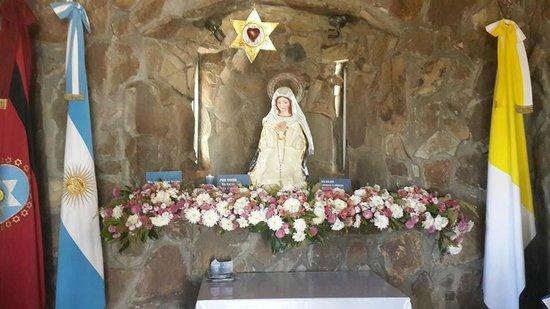 Virgen de los Tres Cerritos: Virgen del cerro