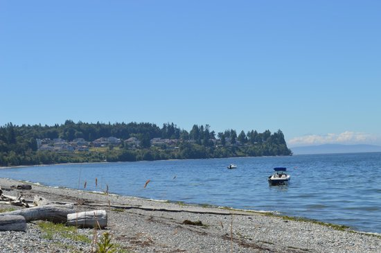 Birch Bay State Park: stunning views from everywhere