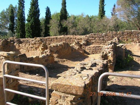 Museo Arqueológico de Cataluña-Ullastret: afgebakend voor veiligheid
