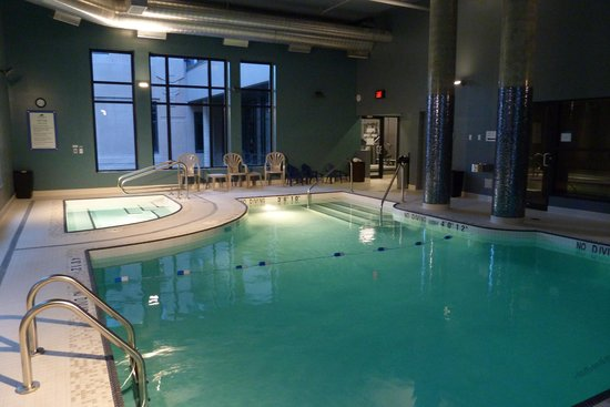 Our Beautiful Indoor Pool Hot Tub Picture Of Hotel Blu Vancouver Tripadvisor