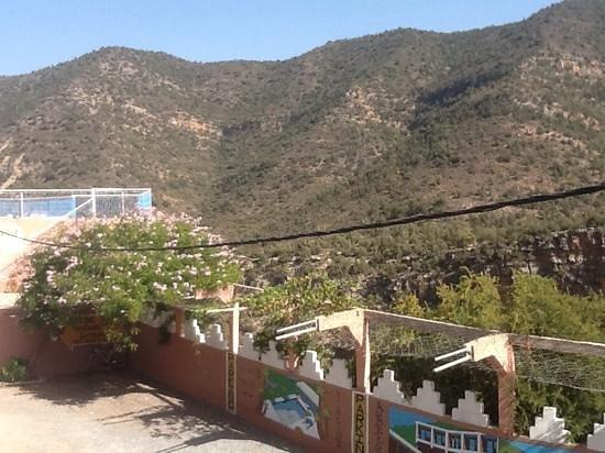 Auberge le Panoramic: vue de la chambre